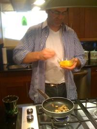 Ryan makes me an Omelette